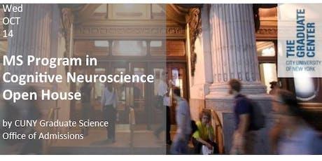 MS Program in Cognitive Neuroscience Open House tickets