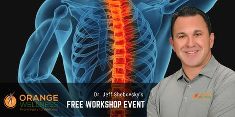 Pain Free with Decompression | FREE Workshop with Dr. Jeff Shebovsky tickets