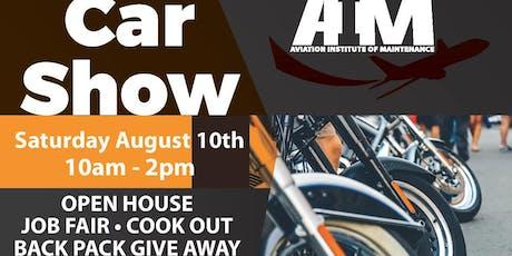 Open House / Car Show / Job Fair / Back Pack Give Away tickets