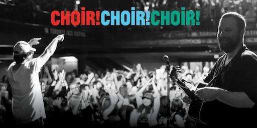 CATHEDRALS XXVI: Choir! Choir! Choir! + guests Ben Hunter & Joe Seamons