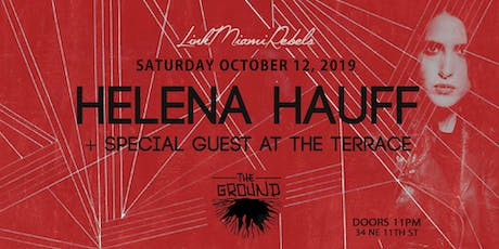 Helena Hauff at The Ground + Special Guest at The Terrace tickets