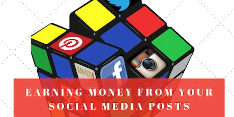 Earning money with your social media posts tickets