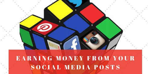Earning money with your social media posts