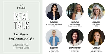 Real Talk: Real Estate Professionals Night at The Riveter Dallas tickets