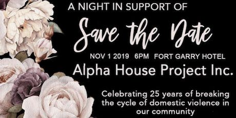 Night in Support of Alpha House tickets