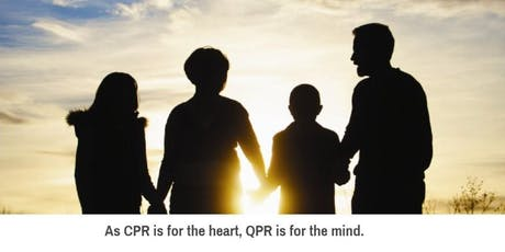Training for Suicide Prevention & Intervention - QPR Question, Persuade, Refer tickets