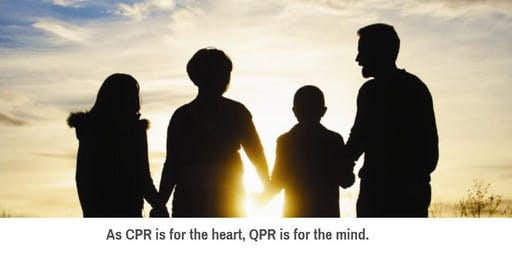 Training for Suicide Prevention & Intervention - QPR Question, Persuade, Refer