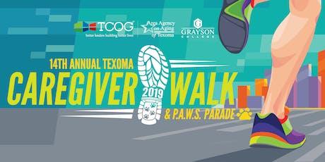 14th Annual Texoma Caregiver Walk & P.A.W.S. Parade tickets