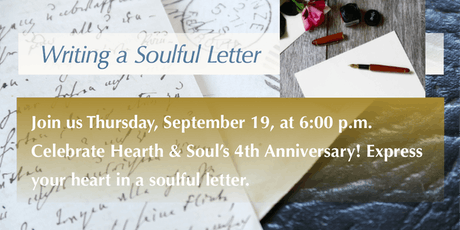 Soulful Letters—a Hearth & Soul and Legacy Letter Event tickets