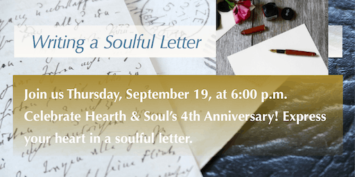 Soulful Letters—a Hearth & Soul and Legacy Letter Event