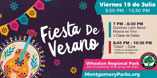Fiesta de Verano   Summer Party