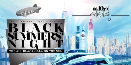 Saturday, August 10th: BLACK SUMMERS' NIGHT - The All Black Gala On The Sea tickets