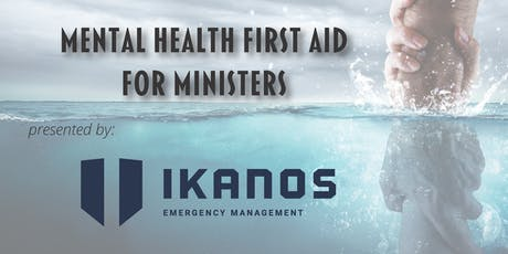 Mental Health First Aid for Ministers tickets