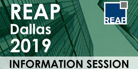 REAP Dallas 2019 Information Session tickets