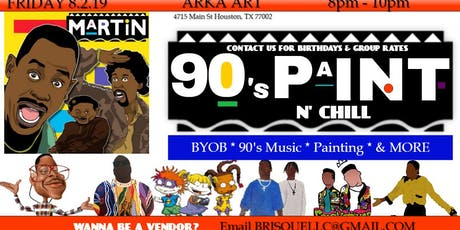 90s Paint n Chill HTX tickets
