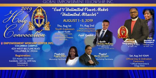 GEF, Inc. 2019 Holy Convocation