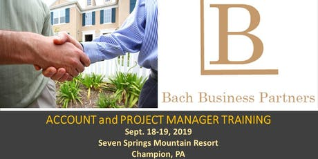 Bach Business Partners Account and Project Manager Training tickets