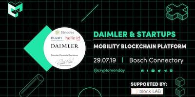 Special Event: Blockchain Use Cases - Daimler Mobility Blockchain Platform