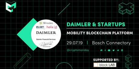 Special Event: Blockchain Use Cases - Daimler Mobility Blockchain Platform Tickets