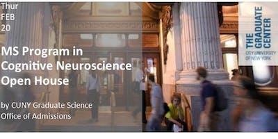 MS Program in Cognitive Neuroscience Open House
