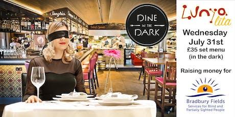 Dine in the Dark  tickets