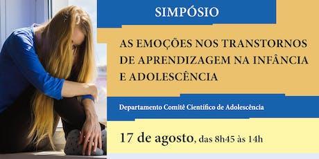 Simpósio - Comitê Científico de Adolescência ingressos