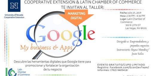 Google My Business & Apps