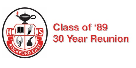 Rockford East's Class of '89: 30-Year Reunion tickets