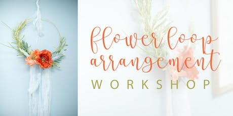Sip and Learn: Flower loop arrangement tickets