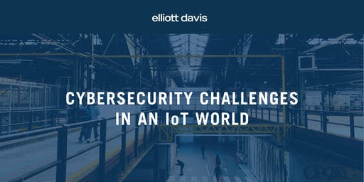 Cybersecurity Challenges in an IoT World