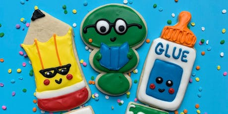 Back to School Cookie Decorating Class tickets