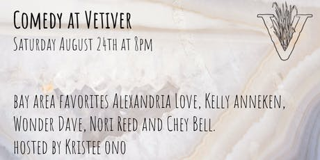Comedy at Vetiver tickets
