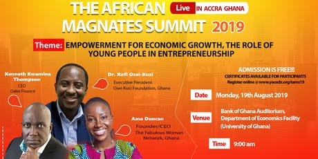 The African Magnates Summit 2019 tickets