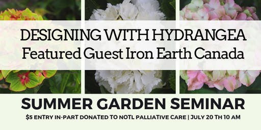 Designing with Hydrangeas: Summer Garden Series #GROWniagara