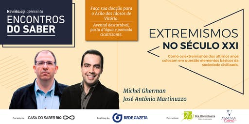 Encontros do Saber com Michel Gherman e José Antônio Martinuzzo