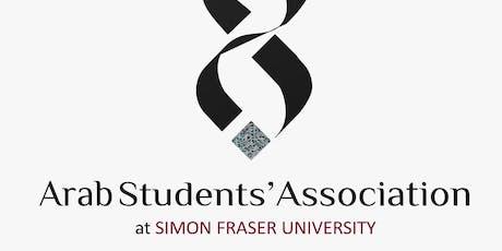SFU Arab Student Association Summer Gathering tickets