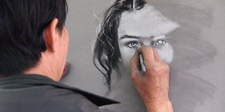 Paint A Face Portrait With Pastels tickets