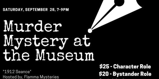 Murder Mystery at the Museum