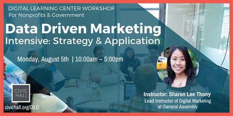 Data Driven Marketing Intensive: Strategy and Application tickets