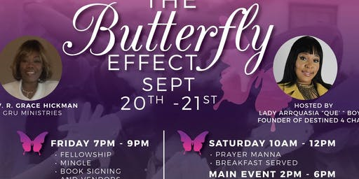 Grace Redeemed United Ministries Launch Event Presents The Butterfly Effect