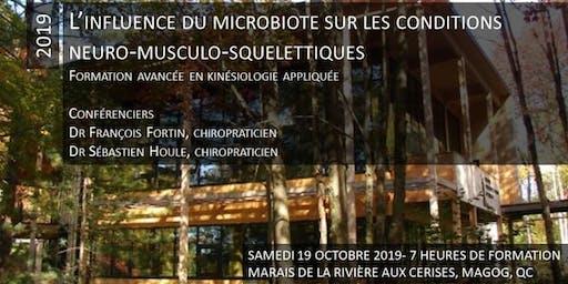 L'influence du microbiote sur les conditions neuro-musculo-squelettiques