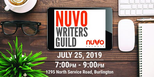 NUVO WRITERS GUILD (JULY) - NUVO Network