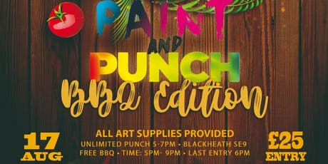 Paint and Punch X  BBQ Edition tickets