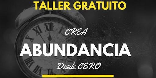 CREA ABUNDANCIA DESDE CERO