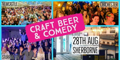 Craft Beer & Comedy Special - Sherborne