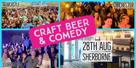 Craft Beer & Comedy Special - Sherborne  tickets