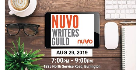 NUVO WRITERS GUILD (AUGUST) - NUVO Network  tickets