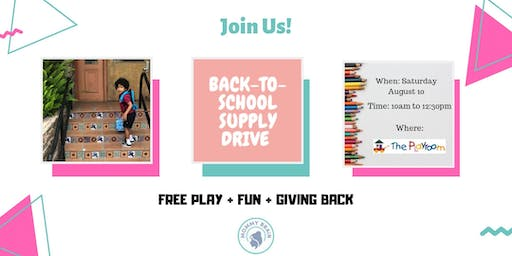 Mommy Brain Back-to-School Supply Drive