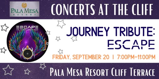 Concerts at the Cliff:  The Journey Tribute Band, Escape