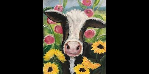 You Belong Among the Wildflowers...Cow